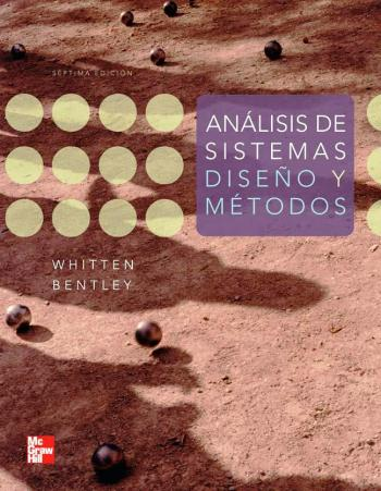 Resultado de imagen para Análisis de sistemas : diseño y métodos. - 7a edición
