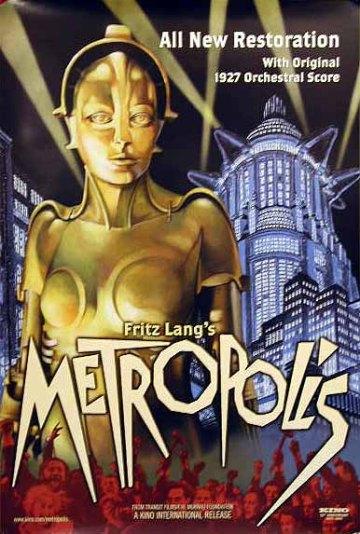 Resultado de imagen para Metrópolis caratula fritz lang