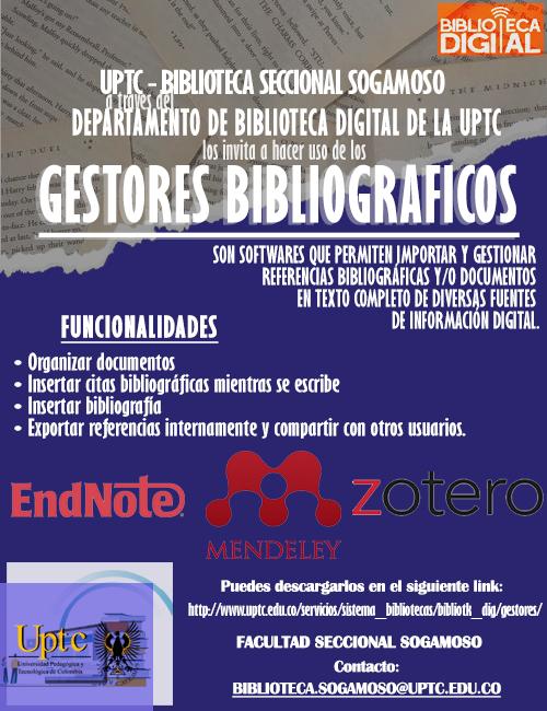 Gestores bibliograficos